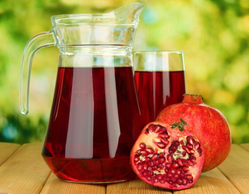 Свежевыжатые соки: польза и вред. Гранатовый сок