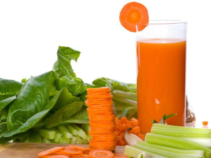 Свежевыжатые соки: польза и вред. Морковный сок