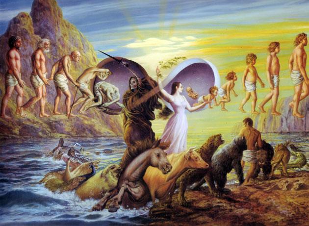 Карма - это совокупность множества проявленных желаний в единой идее я-отделённости самой души. Станислав Милевич