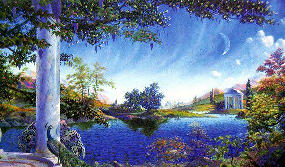 Как попасть в рай? Вы можете думать, что существует некая загробная жизнь, в которой есть рай и ад, но истинный рай лишь там, где нет обусловленного ума. И чтобы быть в раю, достаточно осознать себя здесь и сейчас, перестав блуждать умом во времени и пространстве. Станислав Милевич