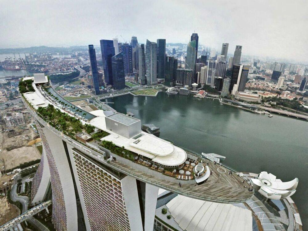 Сингапур. Марина Бэй
