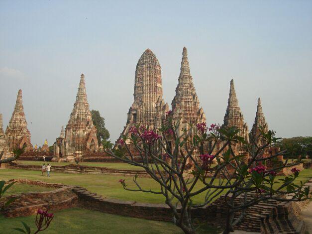 Древняя столица Таиланда Аюттхая. Фото